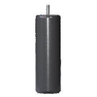 FLY-jeu de 4 pieds cylindre d62 h19cm taupe