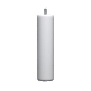FLY-jeu de 4 pieds cylindre d62 h24.5 blanc
