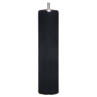 FLY-jeu de 4 pieds cylindre d62 h24.5 noir