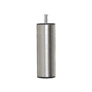 FLY-jeu de 4 pieds cylindre d50 h14.5 inox brosse