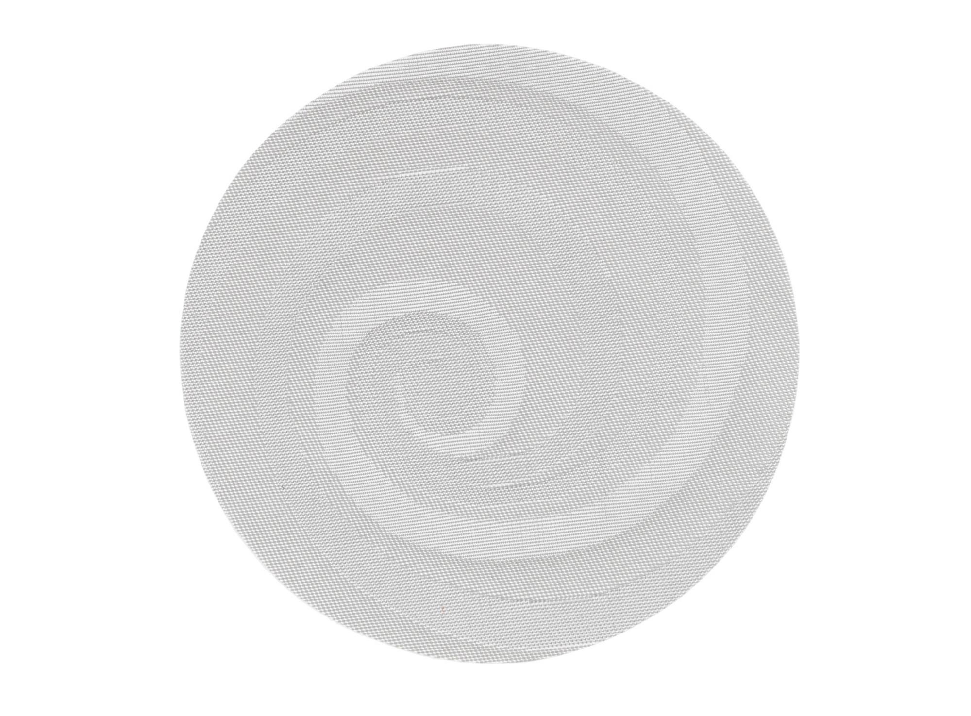 Set de table 75% pvc 25% polyester teinteco loris argent              ...