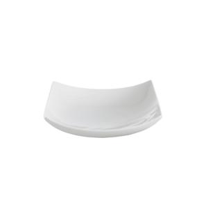 FLY-coupelle en porcelaine 22x22 cm blanc