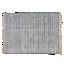 FLY-tapis coton/jute 230x160 noir/naturel