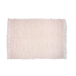 FLY-tapis jute/coton 170x120 gris