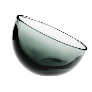 FLY-coupelle en verre d15cm anthracite