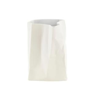 FLY-vase en ceramique h. 26 cm blanc