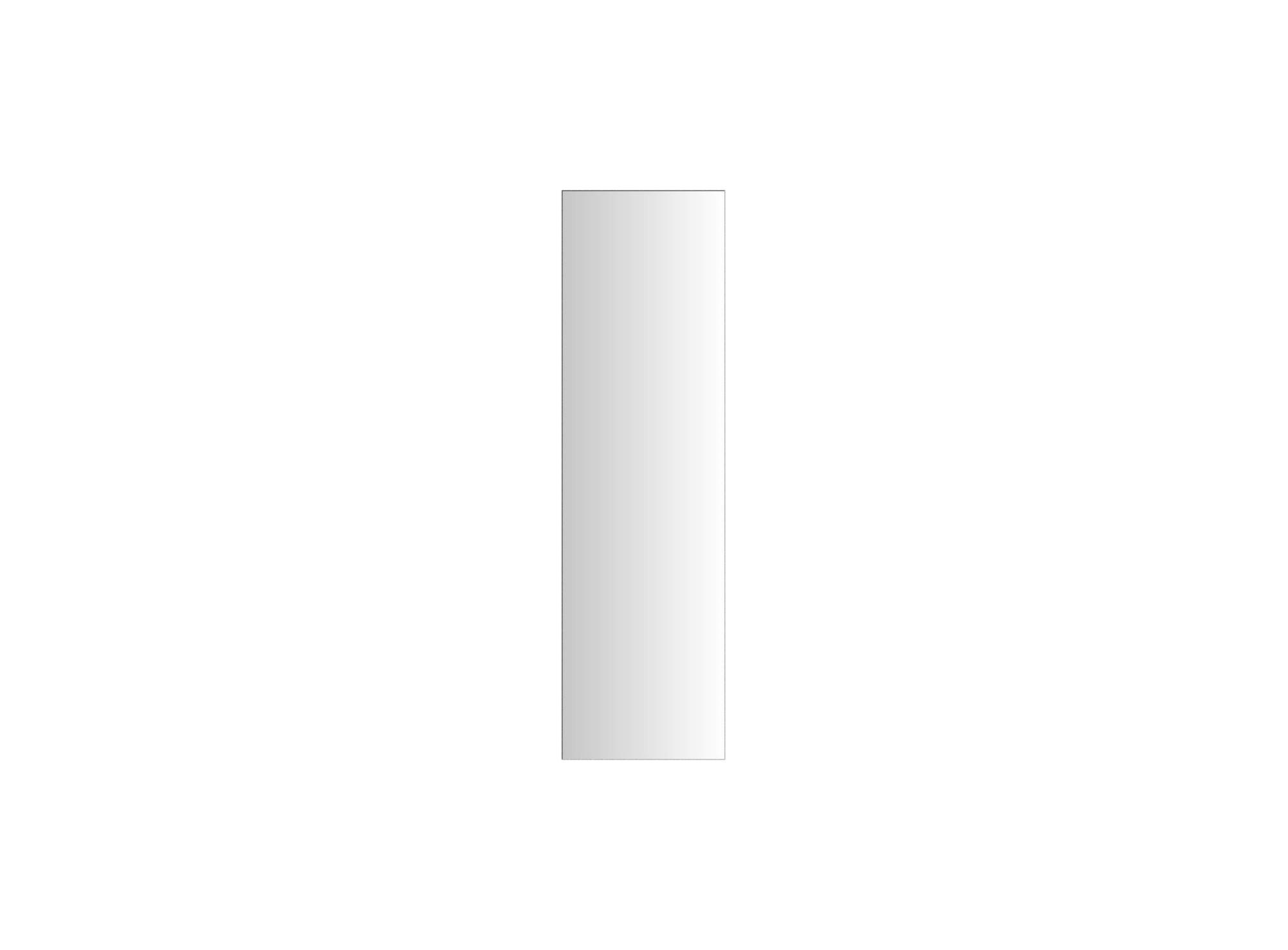 Miroir 40x140cm - dos en panneau de fibre de bois de moyenne densite ...