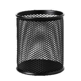 FLY-pot a crayon acier d8.1 h9.4 noir