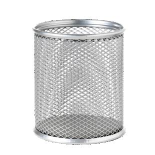 FLY-pot a crayon acier d8.1 h9.4 gris