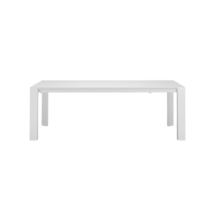 FLY-table laquee blanc brillant
