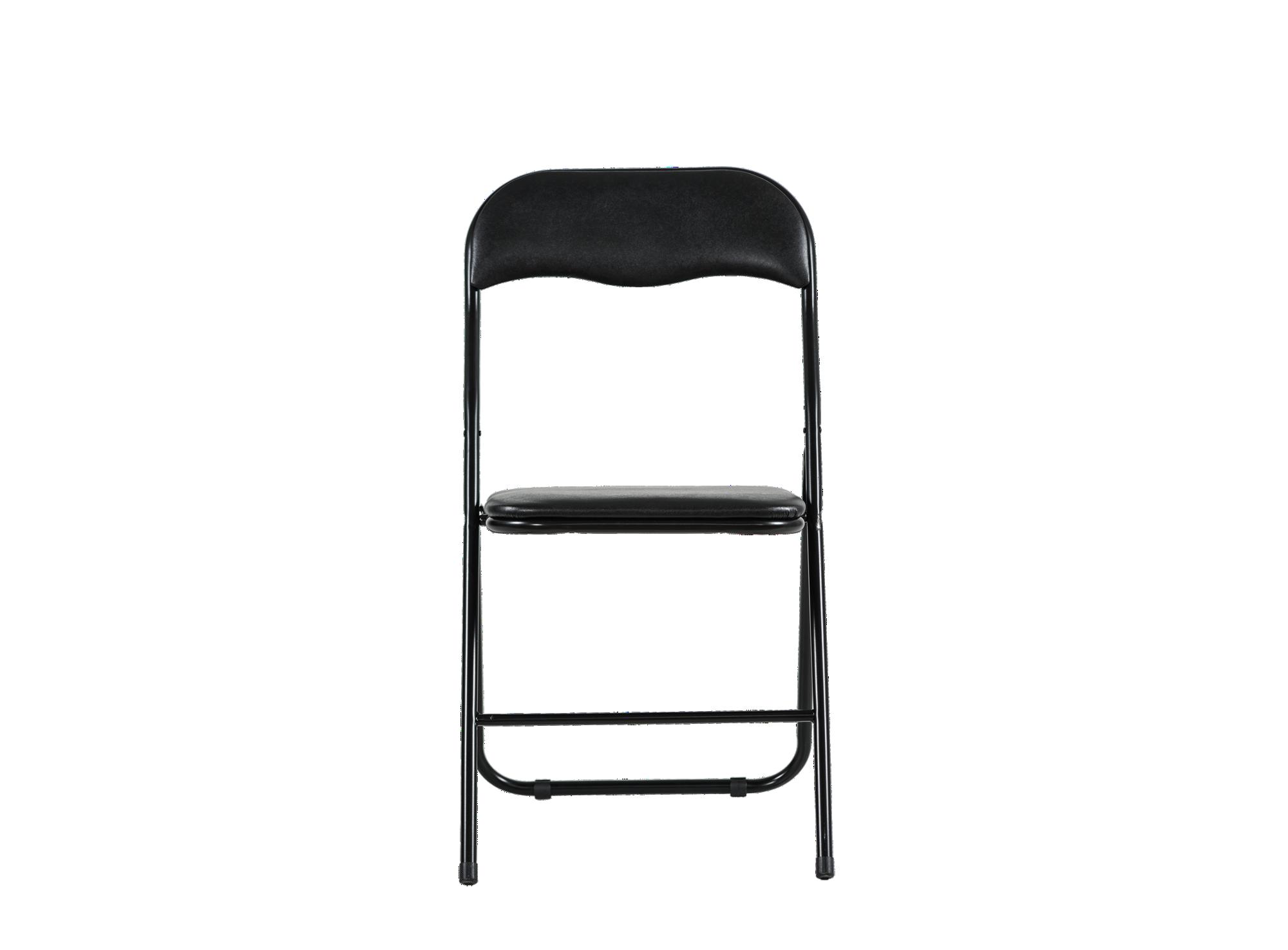 Chaise pliante caio structure et pietement en acier revetu de peintur ...
