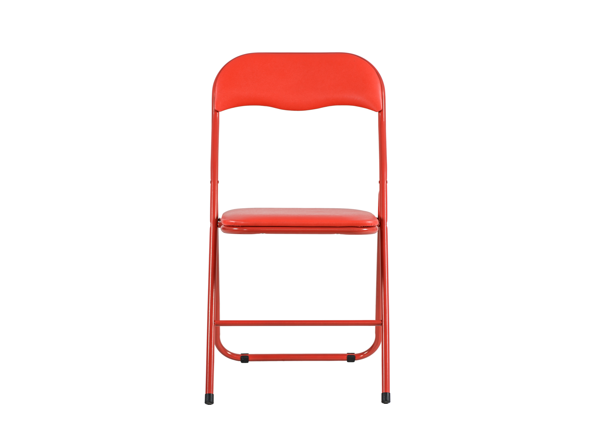 Chaise pliante pu rouge rouge chaise table chaise for Chaise fly rouge