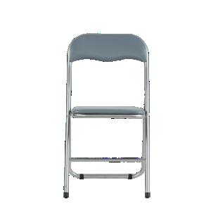 FLY-chaise pliante pu gris/gris