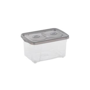 FLY-boite de rangement 4.8 l transparent/anthracite