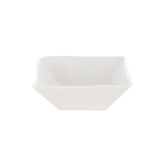 FLY-coupelle en porcelaine 15x15 cm blanc