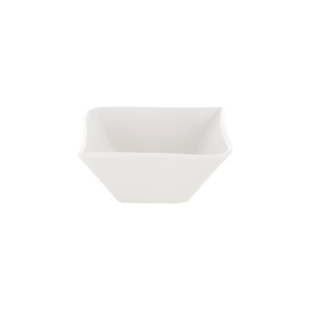 FLY-coupelle en porcelaine 10,5x10,5 cm blanc