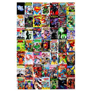 FLY-image contre-collee 61x91 cm multicolore