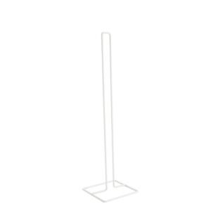 FLY-stockeur de papier wc metal blanc