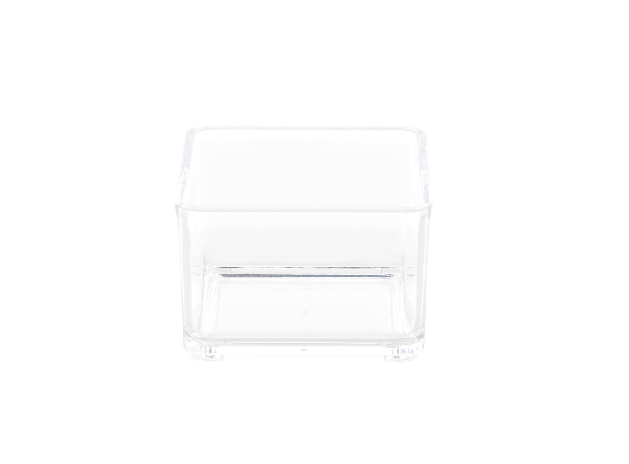 Boite en acrylique transparent