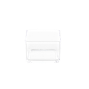 FLY-boite 7.5x7.5cm transparent