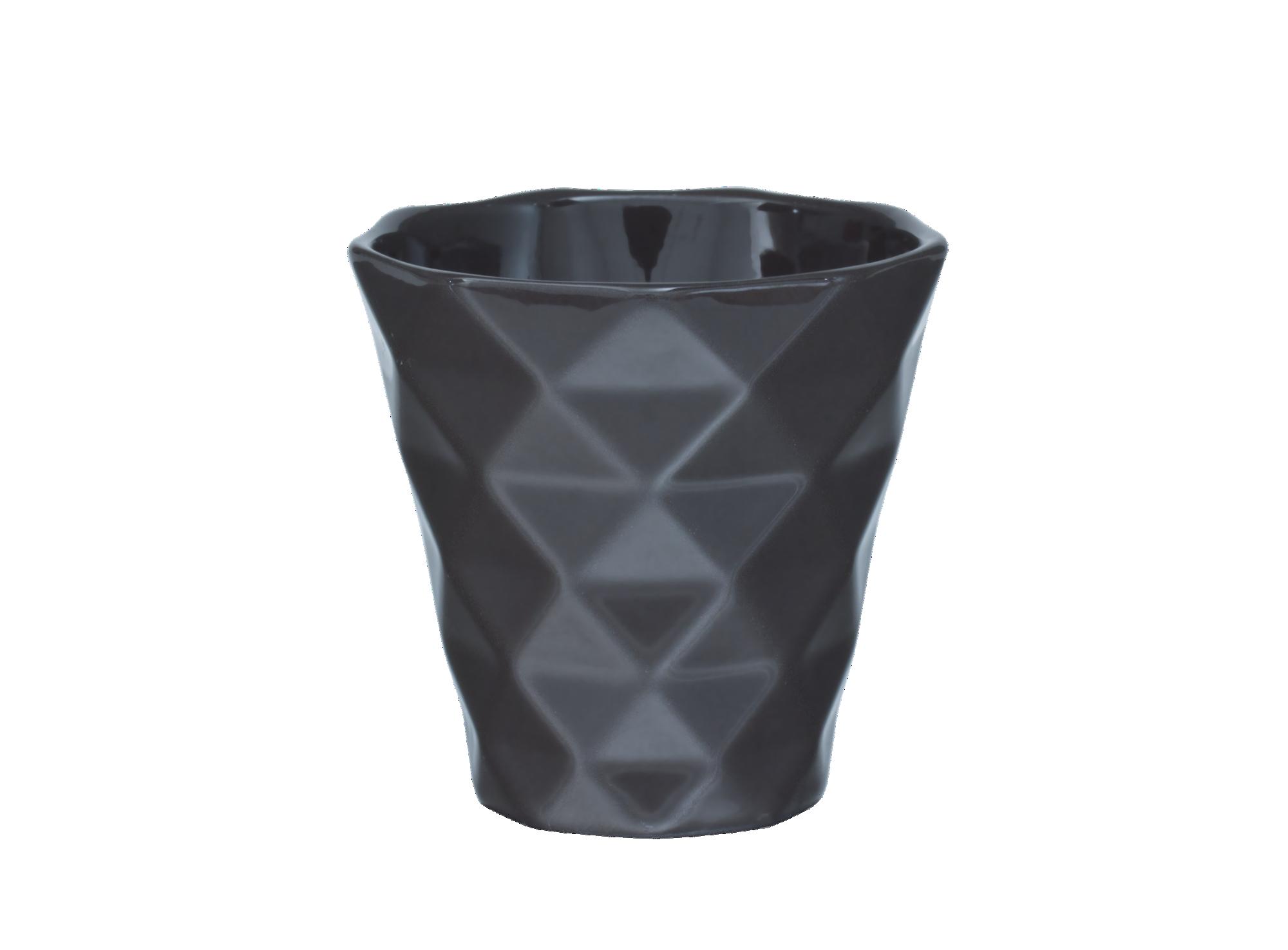 Tasse expresso en porcelaine emaillee - contenance 8cl - resiste au l ...