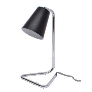 FLY-lampe a poser h41cm noir/chrome