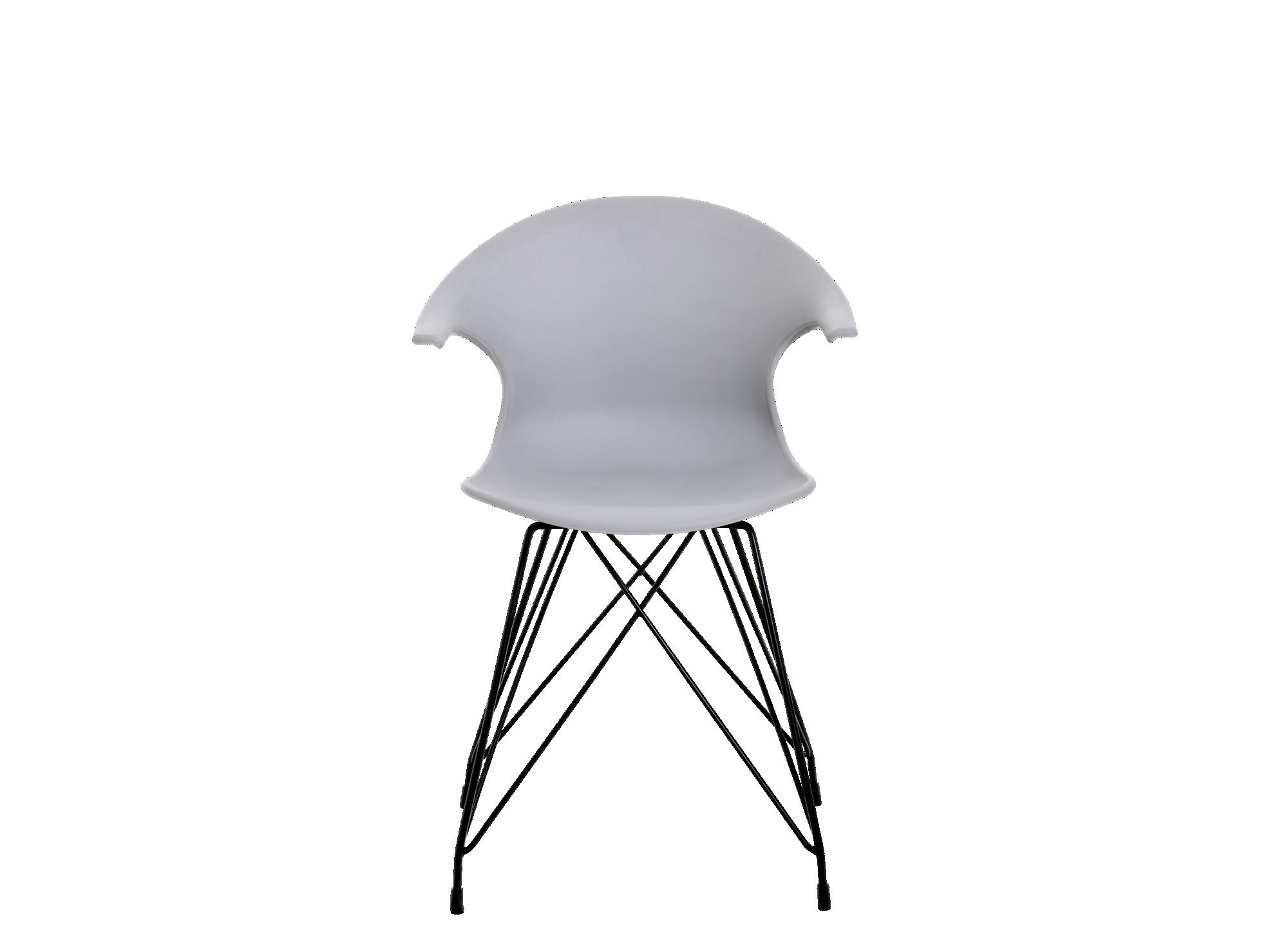 Chaise : pietement en acier revetu epoxy laque coloris noir. coque en ...
