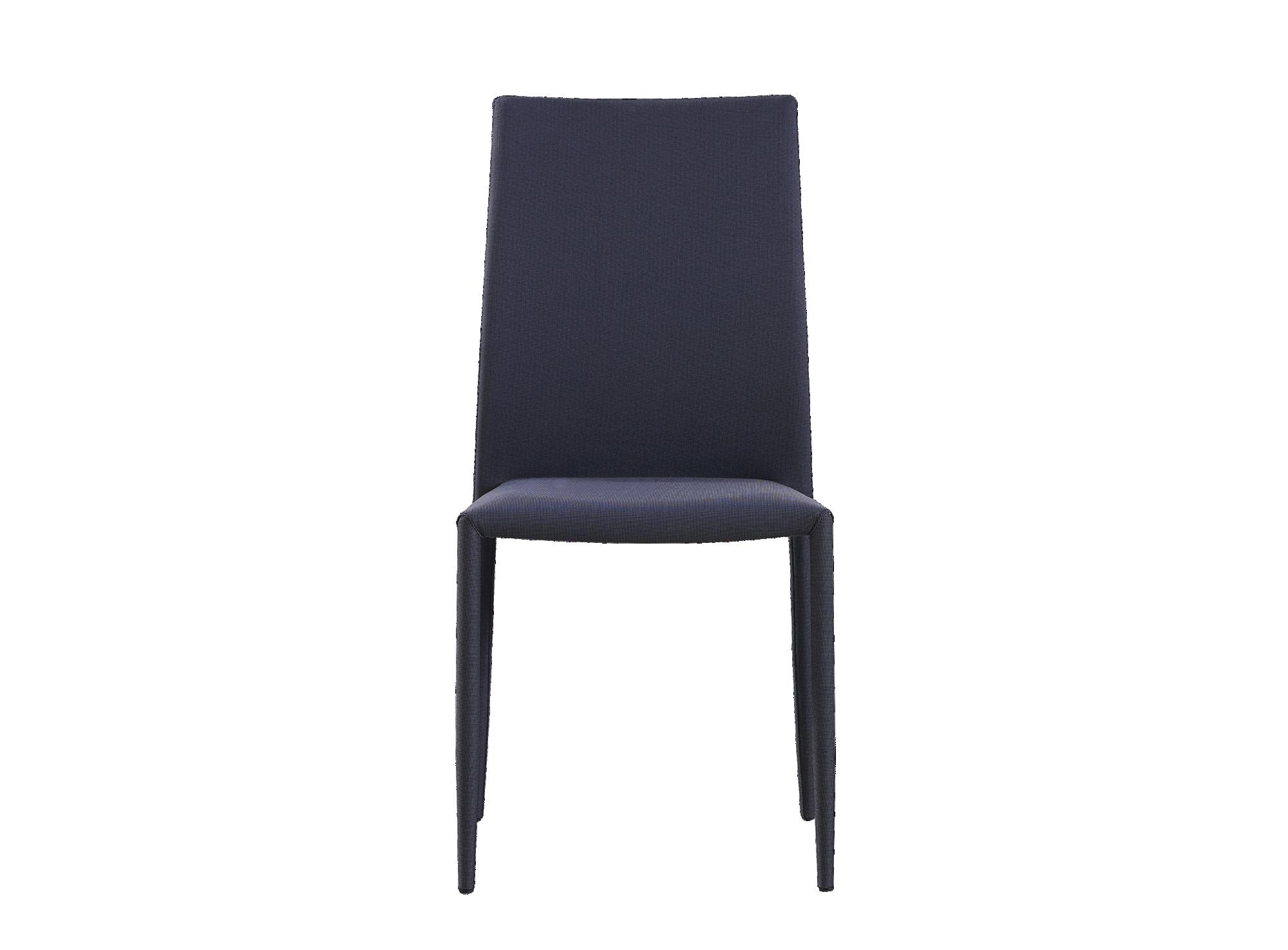 Chaise luisa tissu gris structure d'assise panneau de particules de b ...