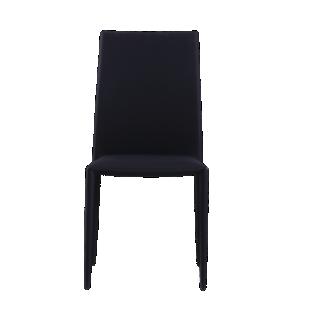 FLY-chaise tissu noir