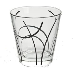 FLY-gobelet 27cl verre noir