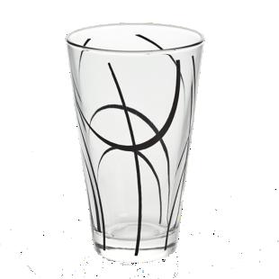 FLY-chope 33cl verre noir