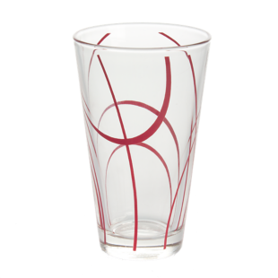 FLY-chope 33cl verre rouge