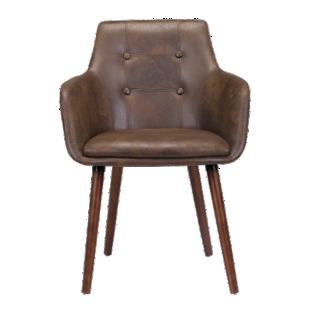 FLY-fauteuil marron