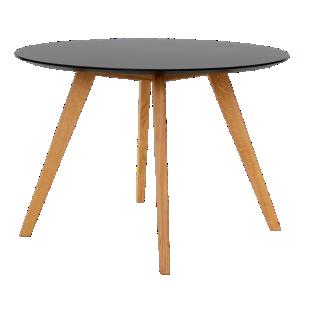 FLY-table ronde diametre 110cm hauteur 75cm noir