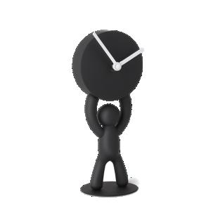 FLY-horloge forme bonhomme coloris noir