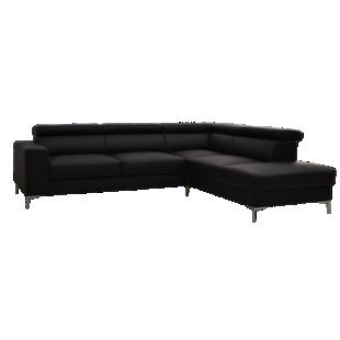 FLY-canape d'angle reversible coloris noir