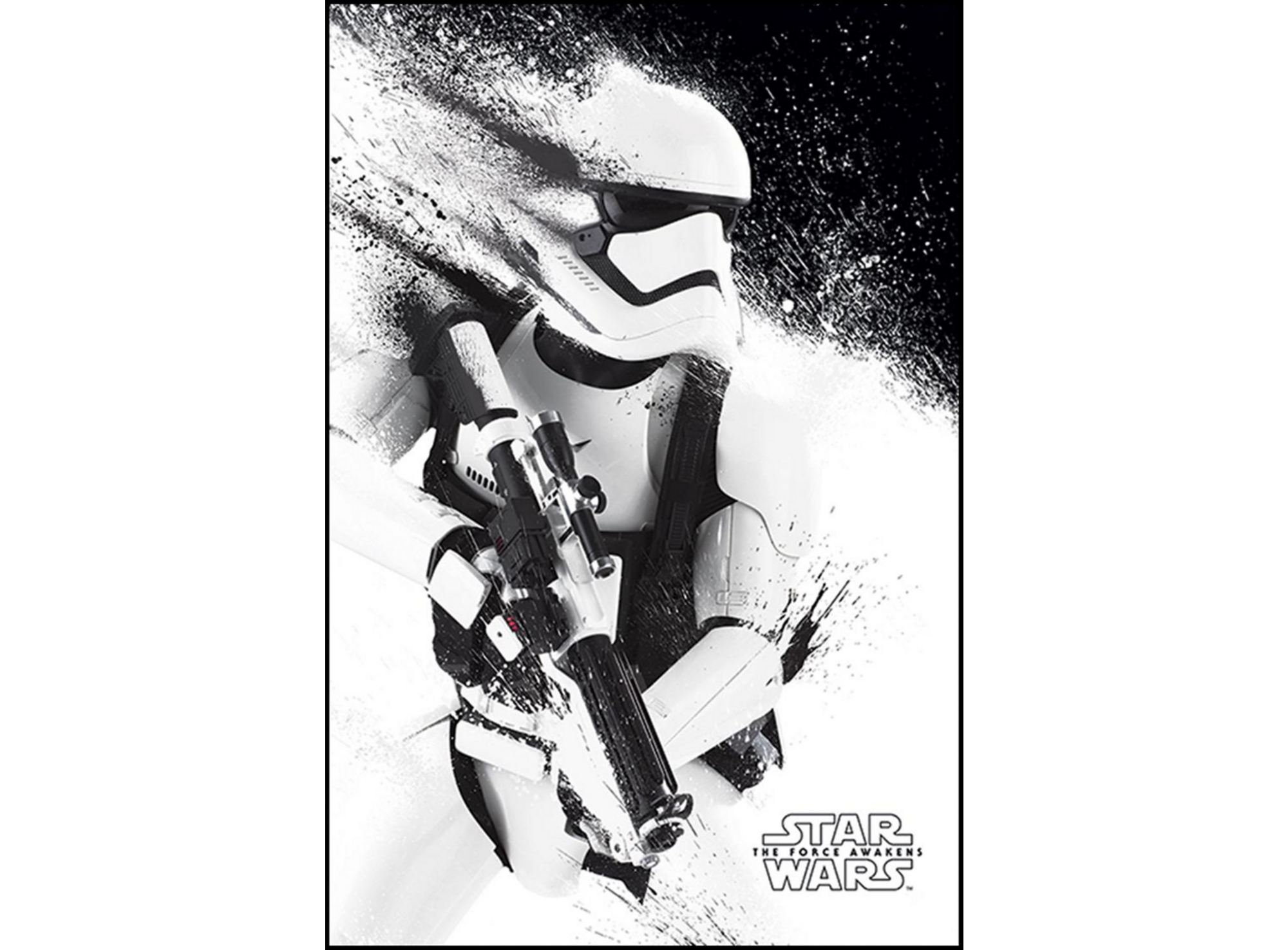 Affiche Encadree Star Wars Episode 7 61x91 5cm Fly