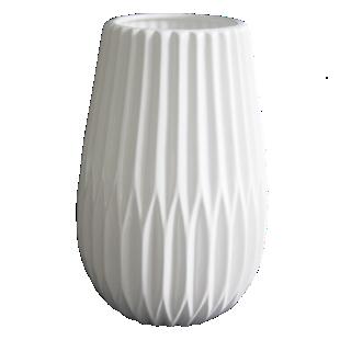 FLY-vase h20.3cm blanc