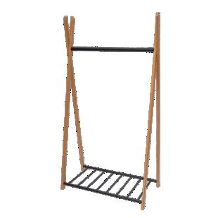 FLY-portant 93x173cm bambou et fer epoxy noir