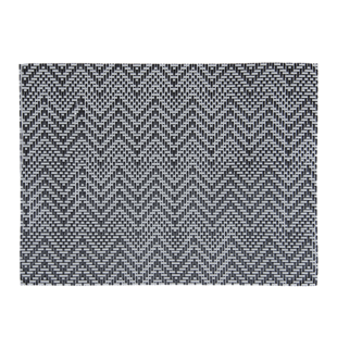 FLY-set de table 30*45 noir/gris zig zag