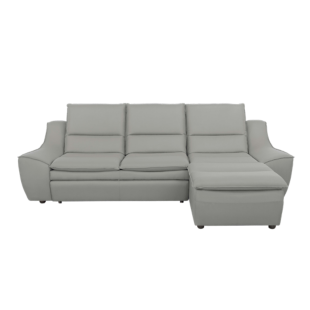 FLY-angle droit convertible tissu gris