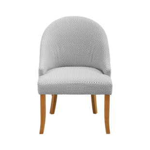 FLY-fauteuil noir/blanc