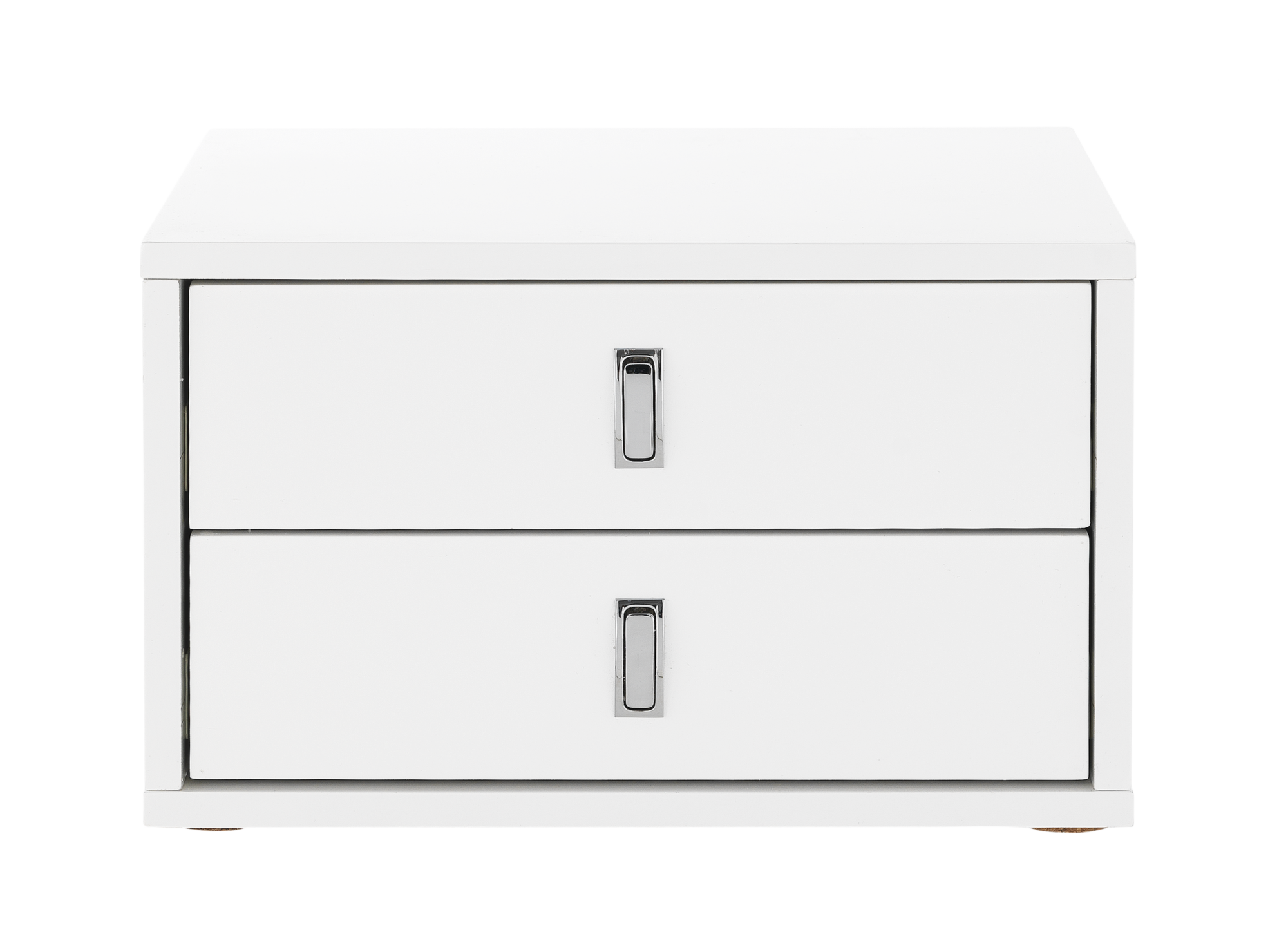 Bloc bureau 2 tiroirs blanc bureau bureau meuble fly for Meuble bureau blanc