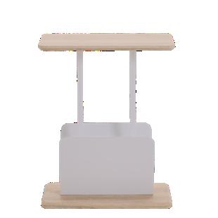 FLY-porte revues l50 chene sonoma/blanc