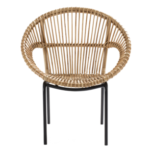 FLY-fauteuil tresse naturel
