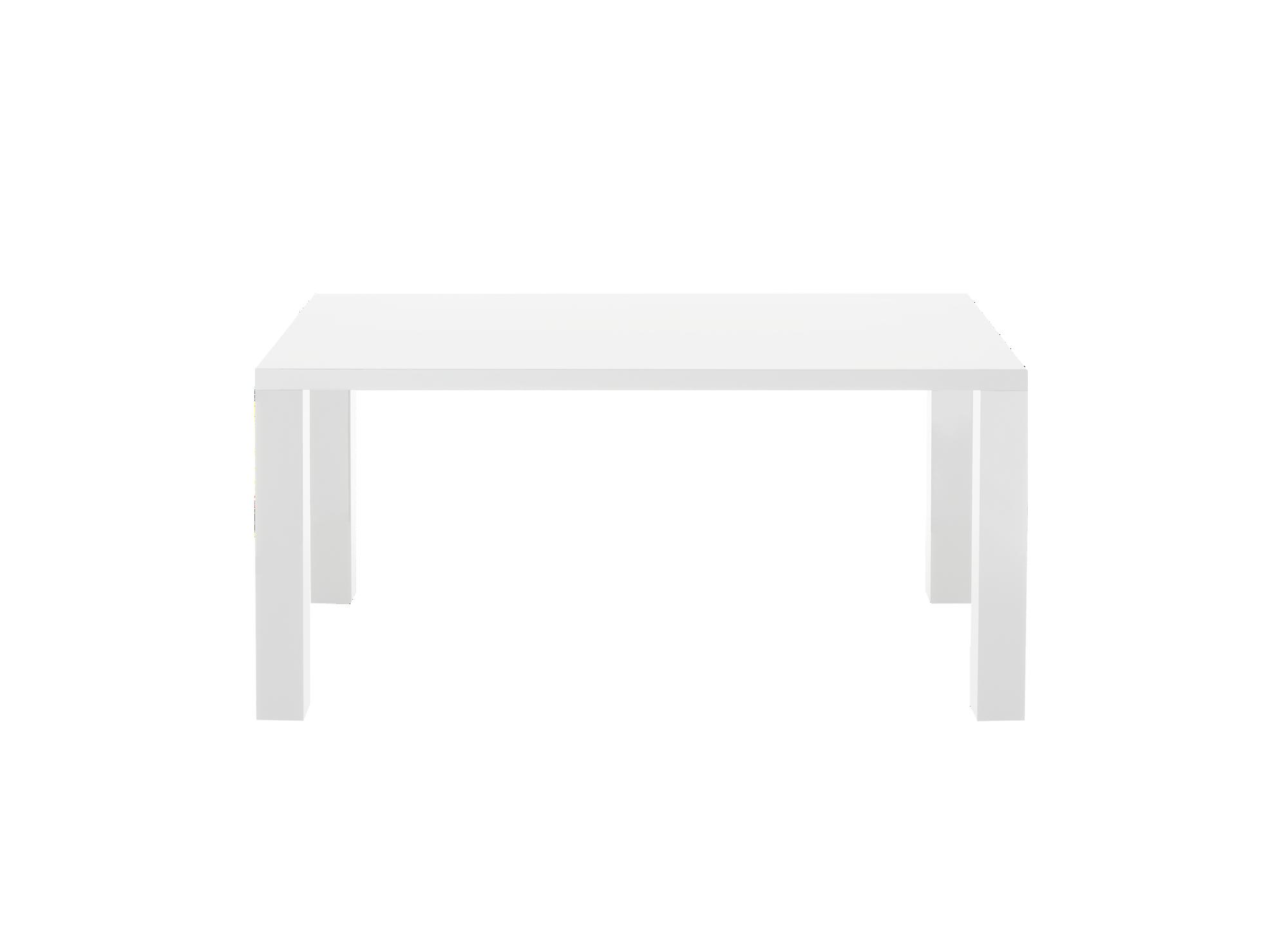 Table rectangulaire 160x90cm pietement en panneau de fibres de moyenn ...