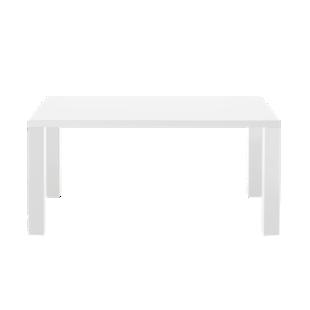 FLY-table rectangulaire blanc brillant 160x90cm