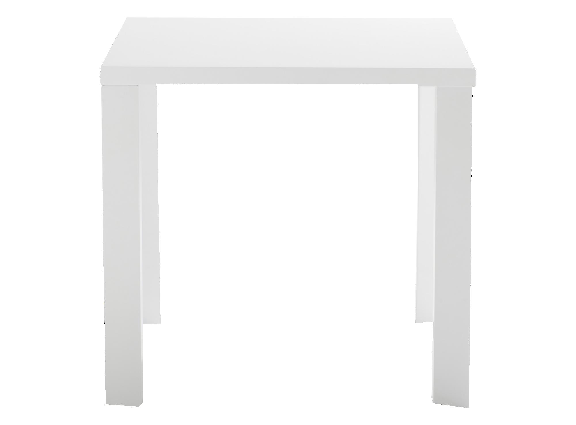 Table carre 80x80cm pietement en panneau de fibres de moyenne densite ...