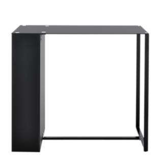 FLY-bar verre noir l120