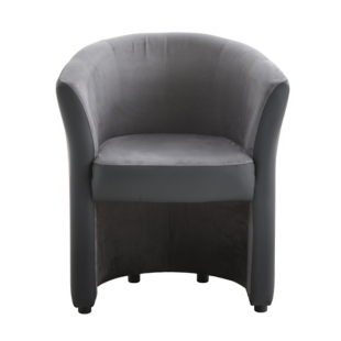 FLY-cabriolet anthracite/microfibre gris